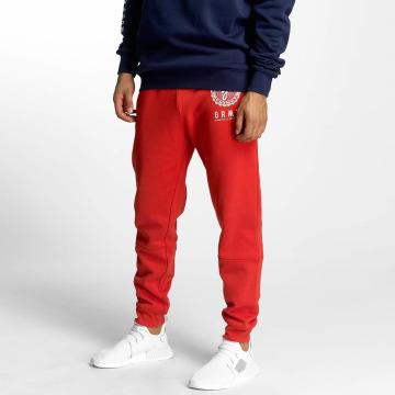 Grimey Wear Spodnie do joggingu Core czerwony