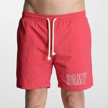 Grimey Wear Swim shorts Rock Creek red
