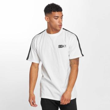 Grimey Wear T-shirt Ashe Piping bianco