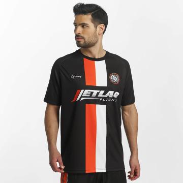 Grimey Wear T-skjorter X 187 Vandal Sport Soccer svart
