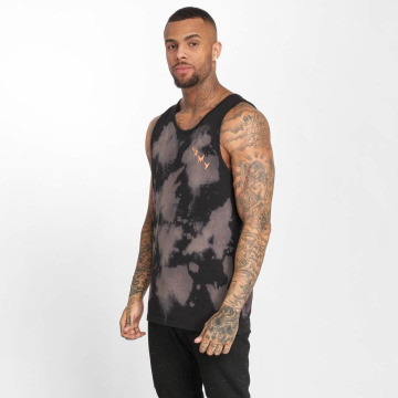 Grimey Wear Tank Tops Egocentric Bleached schwarz