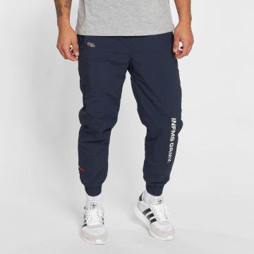 Grimey Wear tepláky Counterblow modrá