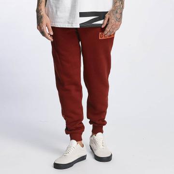 Grimey Wear Verryttelyhousut Overcome Gravity punainen