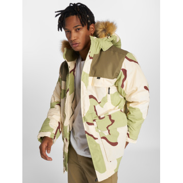 Grimey Wear winterjas Pamir Peaks Camo camouflage