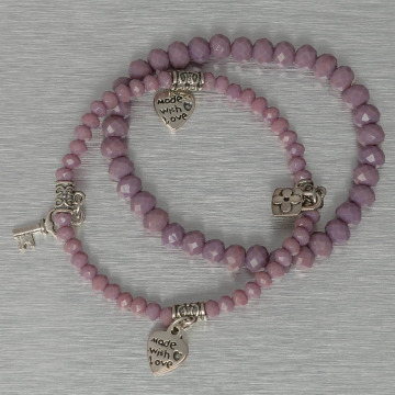 Hailys Bracelet Chrissy purple