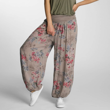 Hailys Pantalon chino Jasmin brun