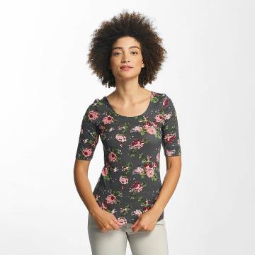 Hailys Pitkähihaiset paidat Rachel Flower harmaa