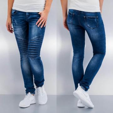 Hailys Skinny Jeans Olivia blau