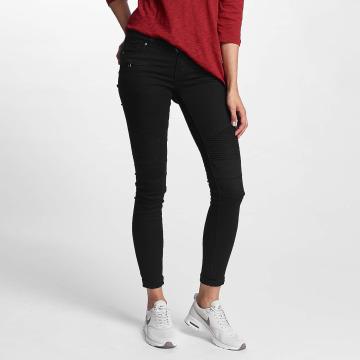 Hailys Skinny Jeans Kina Biker czarny