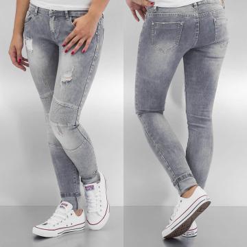 Hailys Skinny Jeans Tamara grau