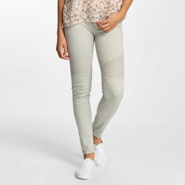 Hailys Skinny Jeans Kina Biker grey
