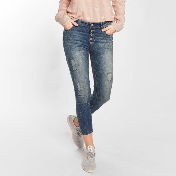 Hailys Skinny Jeans Kristal modrý