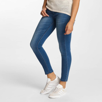 Hailys Skinny Jeans Mia Basic modrý