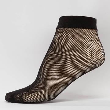 Hailys Sokken Fishnet zwart