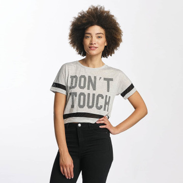 Hailys T-Shirt Bonnie Cropped gray