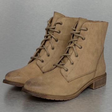 Hailys Vysoké boty / polovysoké boty Annie béžový