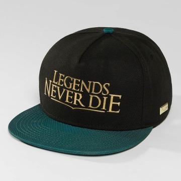 Hands of Gold Snapback Cap Legends black