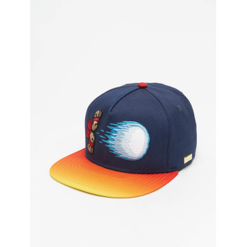 Hands of Gold Snapback Cap Special Move blue