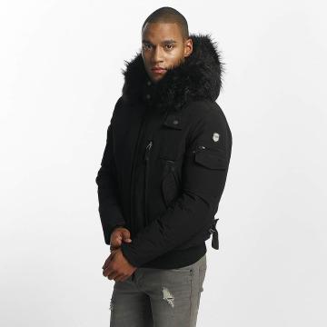 Hechbone Зимняя куртка Police черный