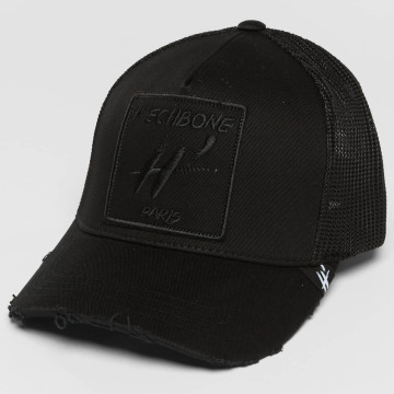 Hechbone Flexfitted Cap Mesh čern