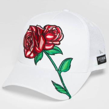 Hechbone Gorra Trucker Rose blanco