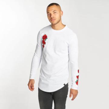 Hechbone Maglietta a manica lunga Roses bianco