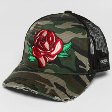Hechbone Trucker Cap Rose mimetico