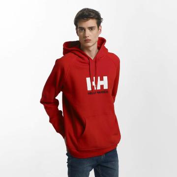 Helly Hansen Hoodies Logo červený