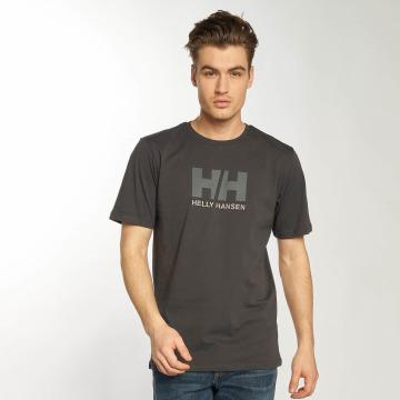 Helly Hansen T-shirt Logo grigio