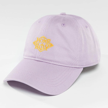 Homeboy Snapback Cap Nappo Logo purple