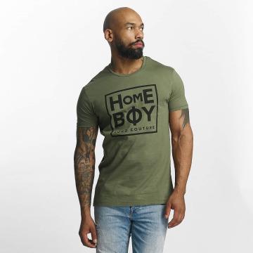 Homeboy T-Shirty Take You Home oliwkowy