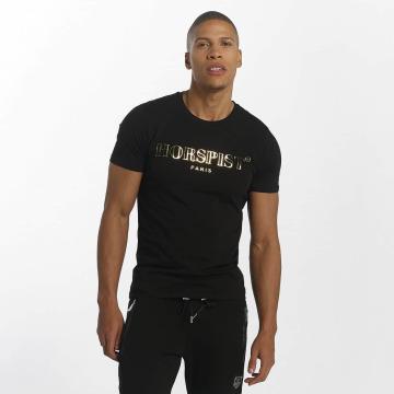 Horspist t-shirt Yanick Booster zwart