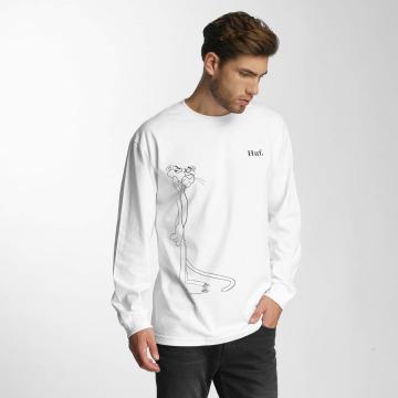 HUF Pitkähihaiset paidat Pink Panther Sus Apparel valkoinen