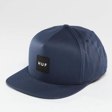 HUF Snapback Cap Box Logo blau