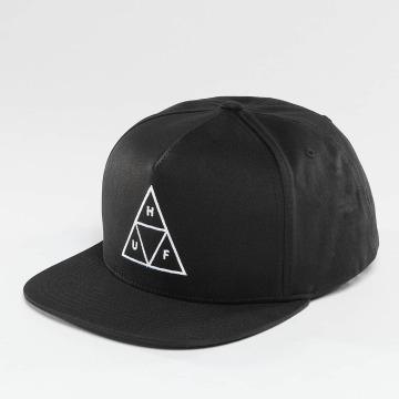 HUF Snapback Cap Triple Triangle schwarz
