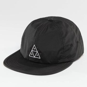HUF Snapback Caps Formless Triple Triangle svart