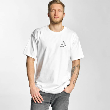 HUF T-Shirt Triple Triangle blanc