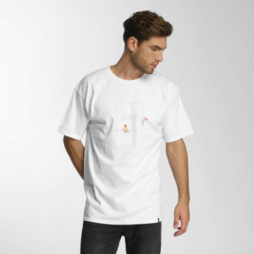 HUF T-Shirt Pink Panther Box Logo Apparel blanc