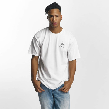 HUF T-Shirt Roses Triple Triangle blanc