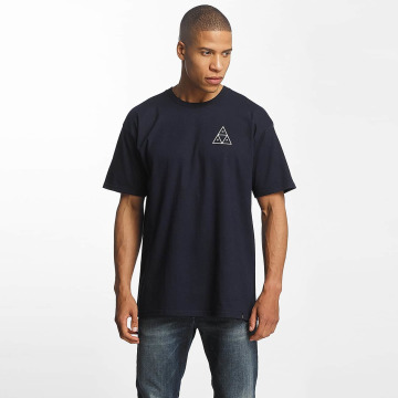 HUF T-shirt Triple Tiangle blu