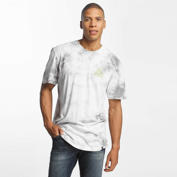 HUF T-Shirt Washed Triple Triangle gris