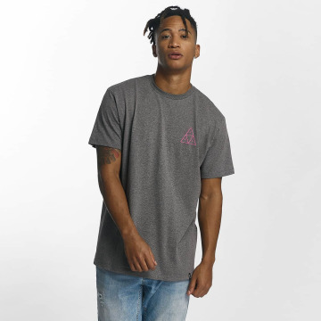 HUF T-Shirt Triple Triangle gris