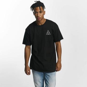HUF T-Shirt Roses Triple Triangle noir