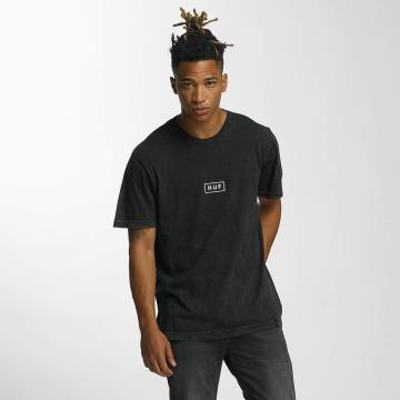 HUF t-shirt Bar Logo zwart