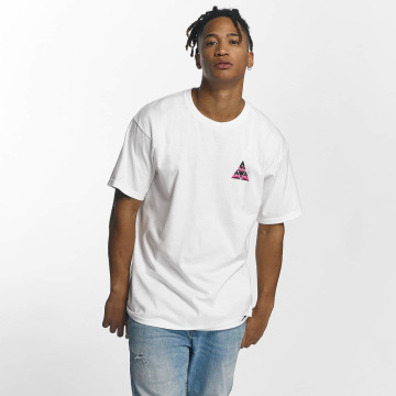 HUF T-shirts Dimensions Triangle hvid
