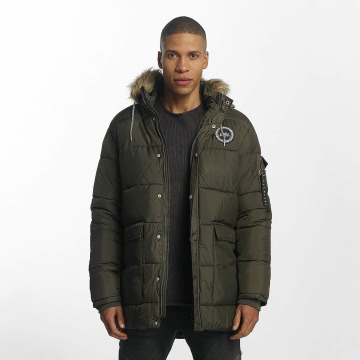 HYPE Зимняя куртка Explorer Puffa хаки
