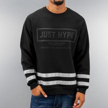 HYPE Pullover 3M Stripes schwarz