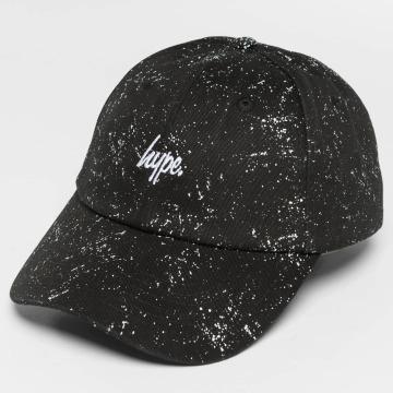 HYPE Snapback Caps Script Speckle Dad čern