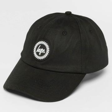 HYPE Snapback Caps Crest Dad Hat čern