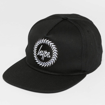 HYPE Snapback Caps Crest čern